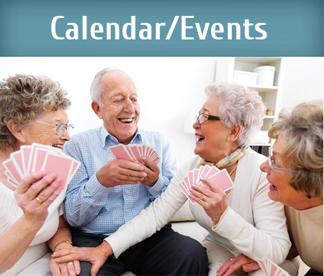 calendar events at oude westhof retirement village